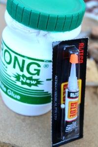 White Glue - Wooddust Mixture
