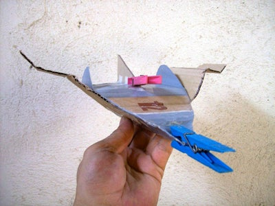 Cardboard Flying Body KFB-3 V3