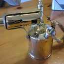 Upcycled Blow Torch Lamp