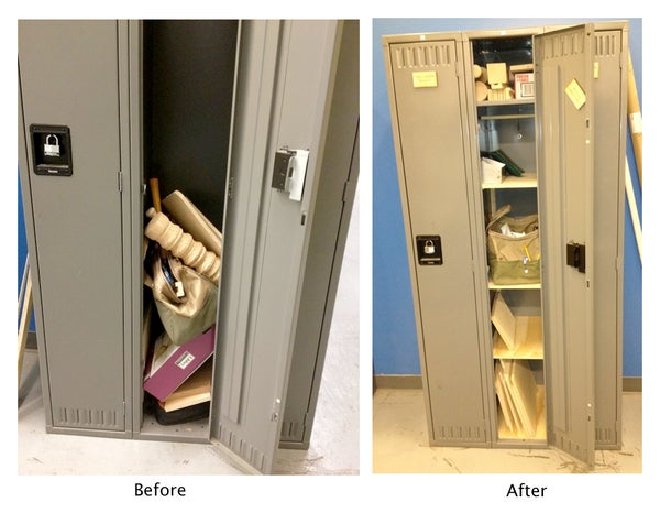 How to Make Your Locker Hold More Stuff