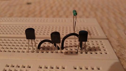 Add the 220R Ohms Resistor
