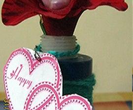 Hide & Seek Valentine Flower Vase