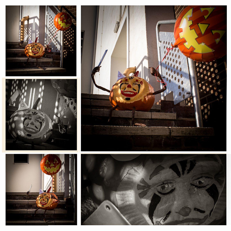 Picture of 3D Clown Pumpkin