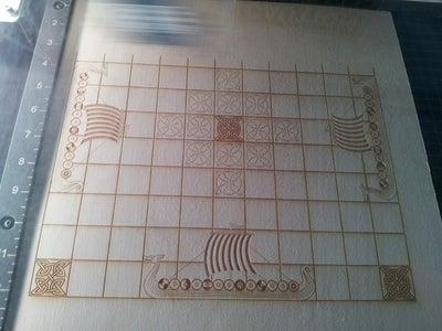 Laser Cut the Playing Area