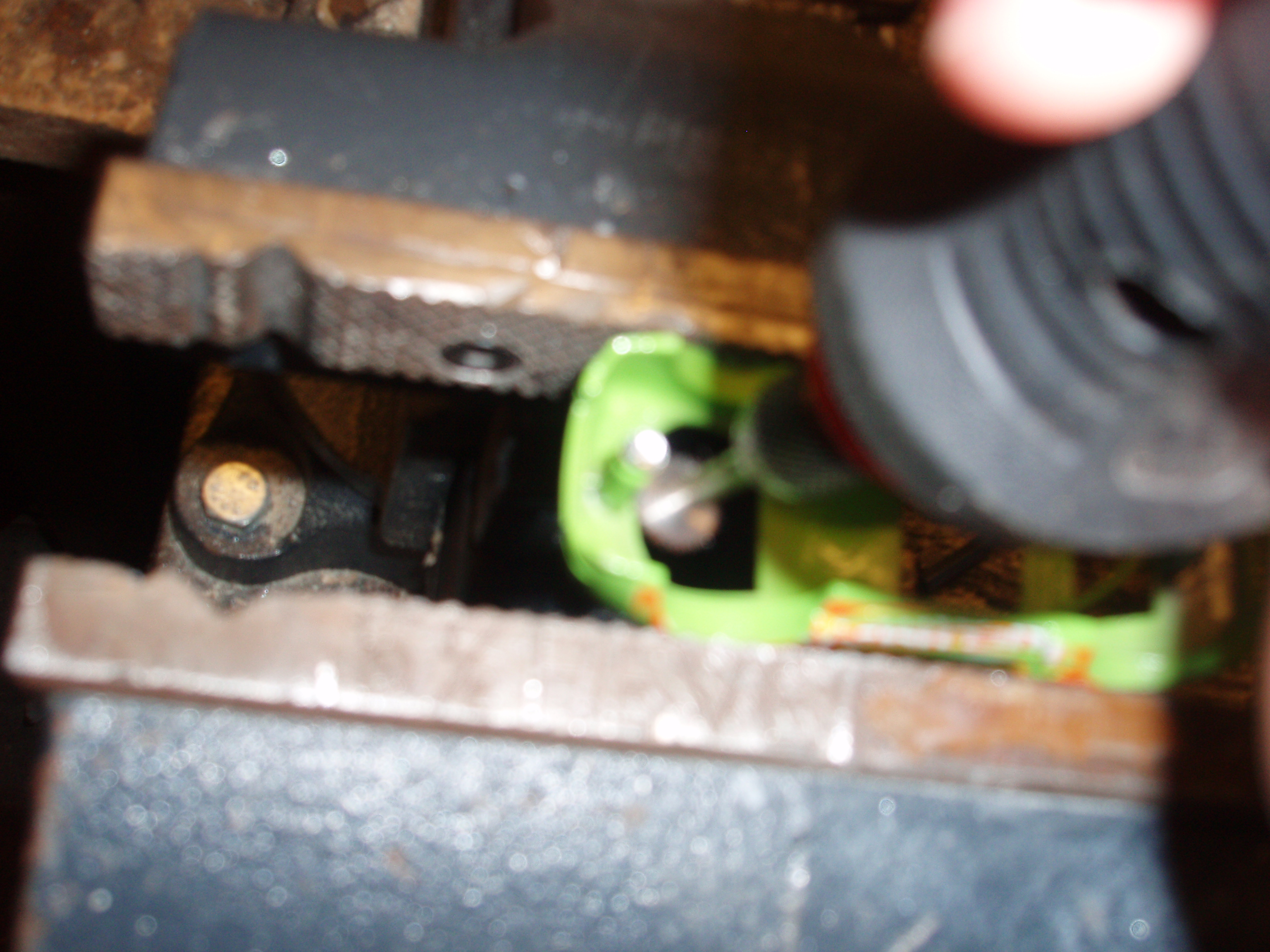 Picture of Cutting the Rivets