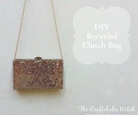 DIY Recycled Clutch Purse