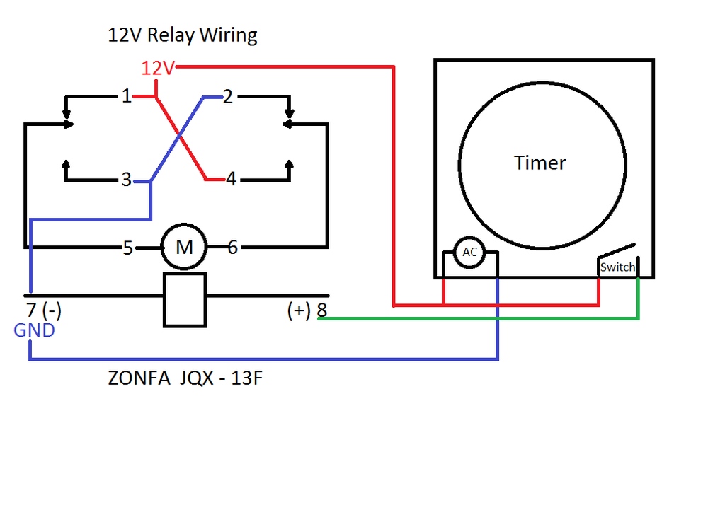 12v relay with timer switch : 4 steps - instructables  instructables