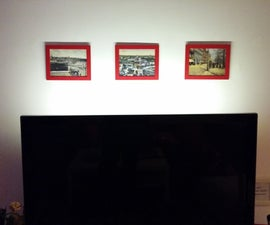 Hang Photo Frames Without Drilling or Tools