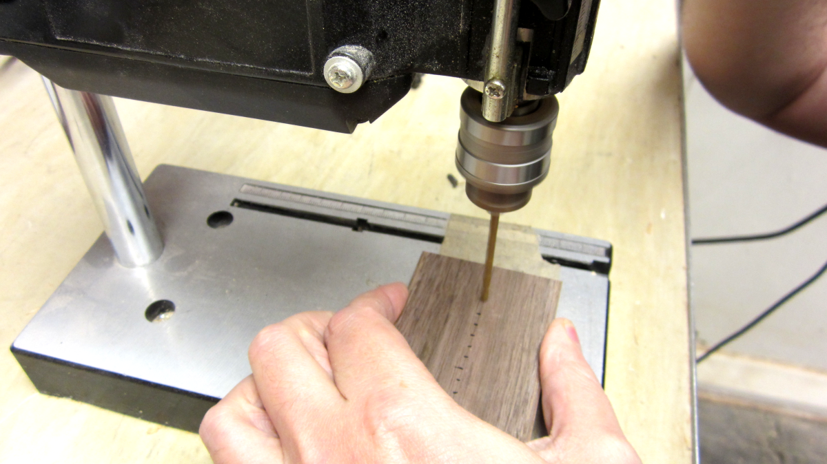 Picture of Drill the Holes for the Chassis
