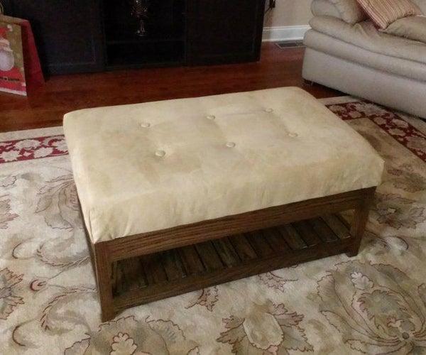 Custom Coffee Table Ottoman