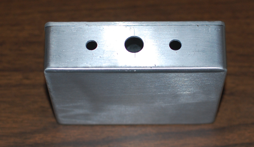 Drill Holes for the Front Connectors