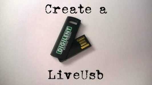 Create a Live USB