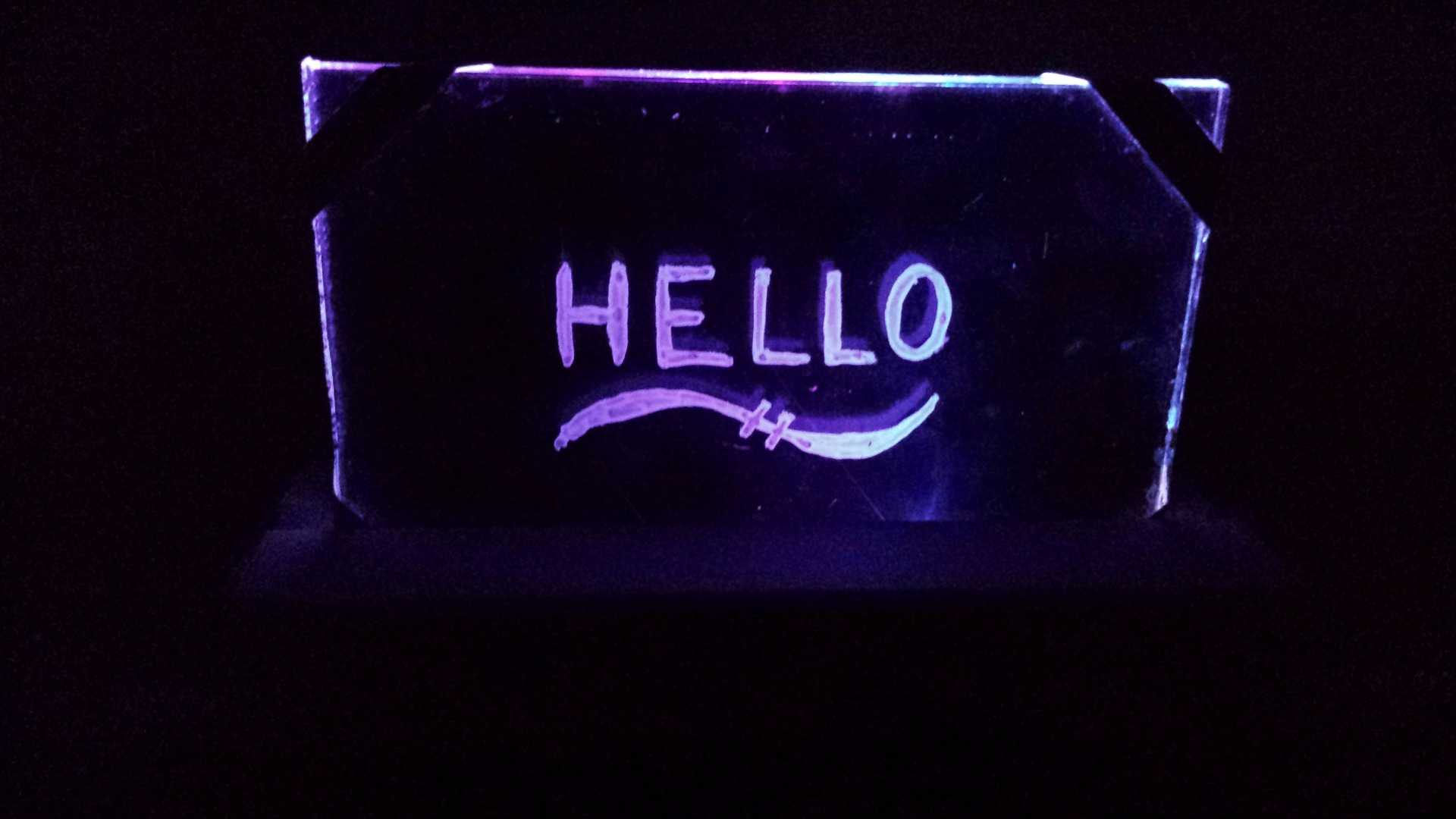 Picture of Light-Up Dry Erase Board