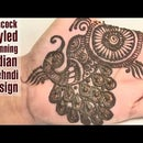 How to create Peacock Styled Stunning Indian Mehndi Design