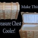 Pirate Chest Cooler Box