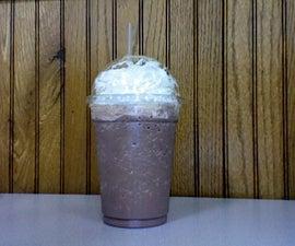 Snow-delicious Frozen hot Chocolate