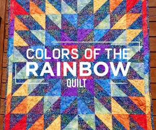 Colors of the Rainbow Quilt