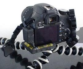 How to build a Light Up Camera Level for a DSLR