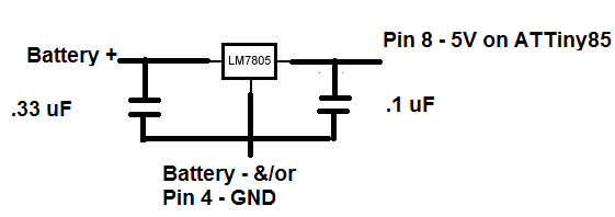Picture of Power Supply for ATTiny85