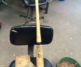 Corked Wooden Bat (illegal In Gameplay)