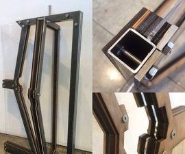 Custom Rotational Window Panel
