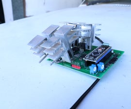 DIY High Current Motor Driver (h-bridge)