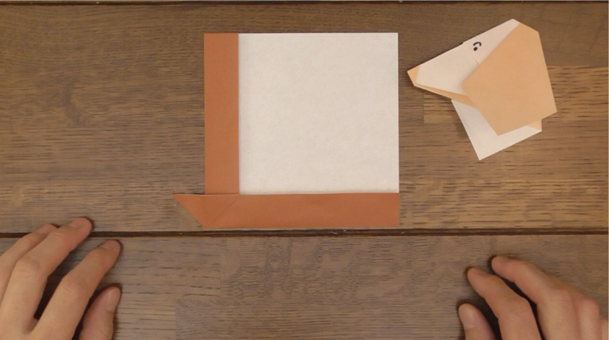 Picture of Matching Folded Edges