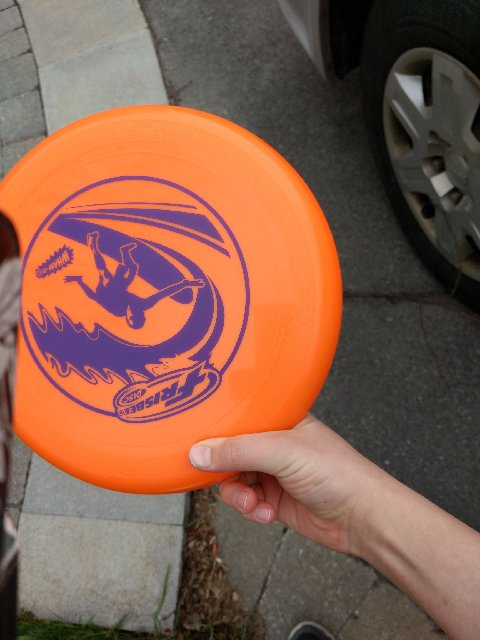 Picture of Frisbee:sidearm