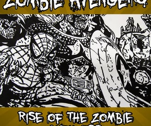 Drawing the Avengers - As Zombies!