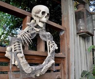 Skeleton Wreath