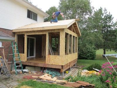 Roof Sheeting, Shingles and Flashing