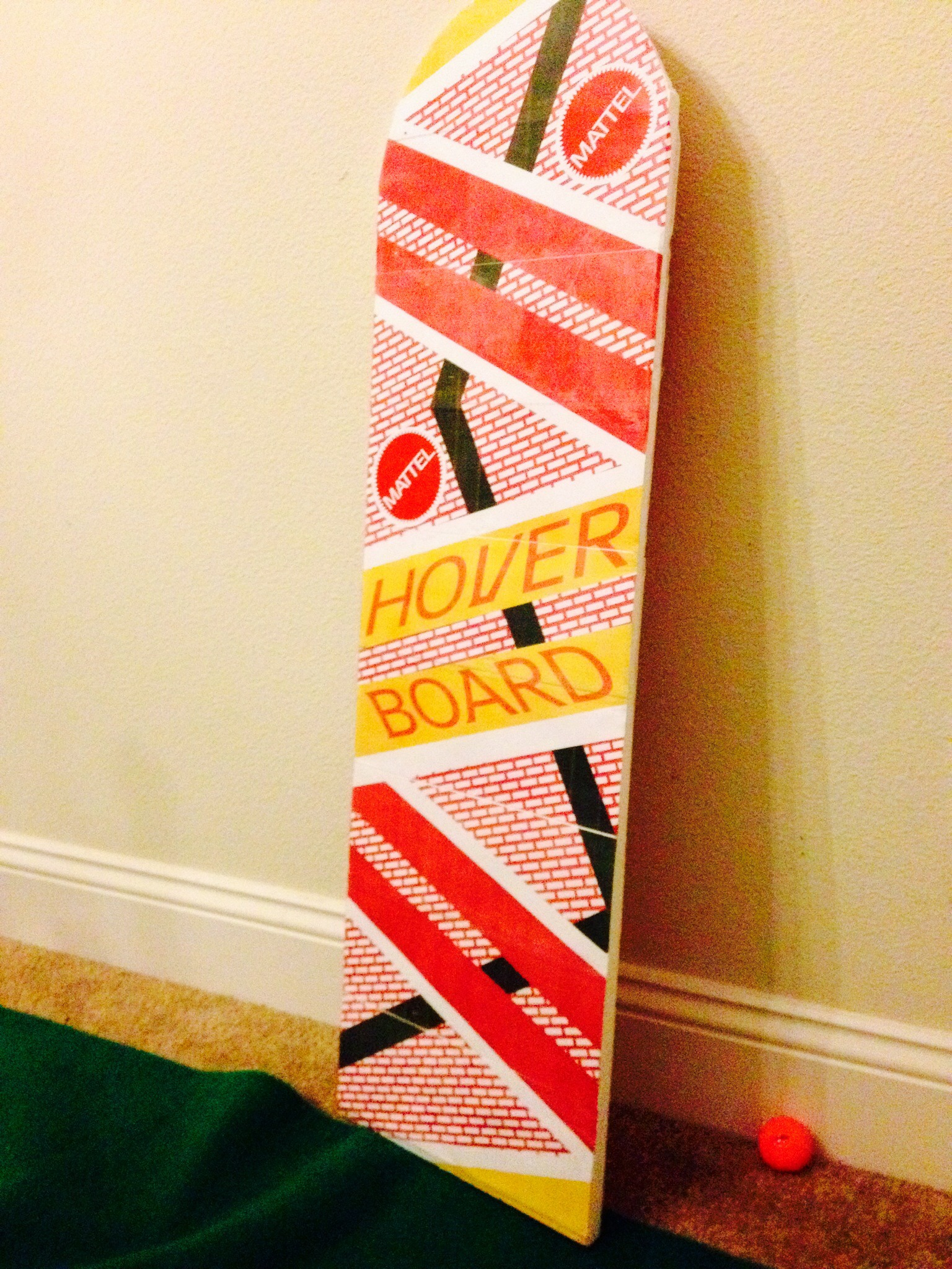 Back To The Future Hoverboard 3 Steps Instructables