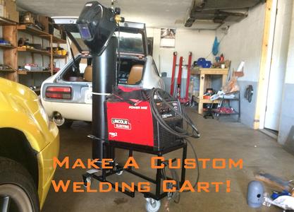 Homemade Custom Welding Cart