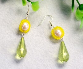 Beebeecraft Tutorials on Making Small Daisy Earrings