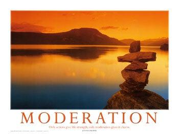 Eat at Moderation