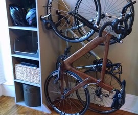 Freestanding Bike Rack/Bookcase