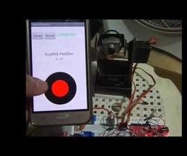 Bluetooth Joystick Pan/Tilt Controller