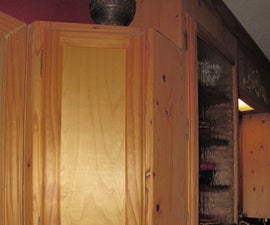 Cabinet Lock With Hidden Touch Switch Trigger