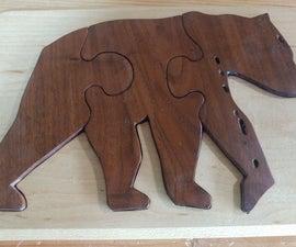 World Class Childrens Hardwood Puzzle