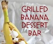 Grilled Banana Snack