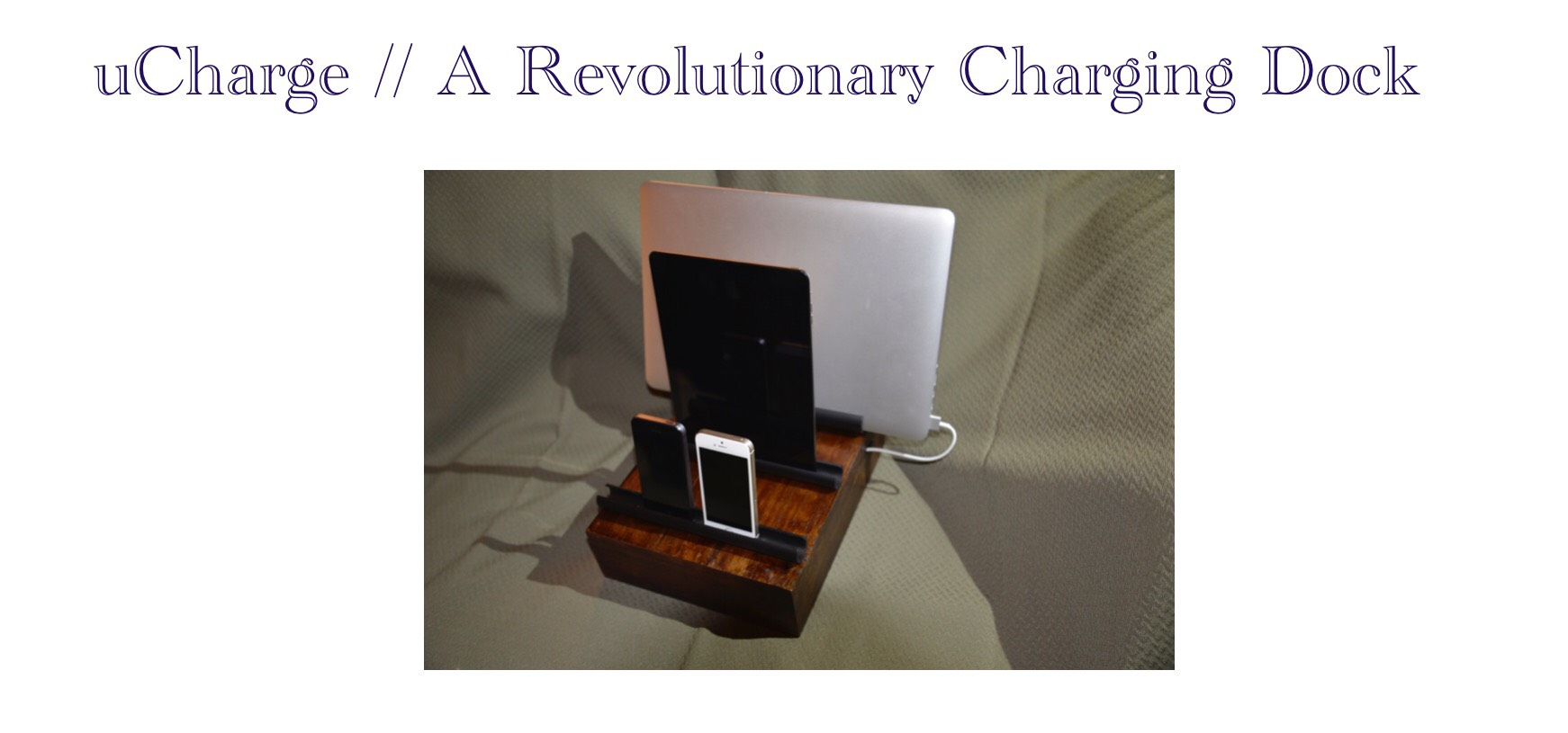 Picture of UCharge // a Revolutionary Charging Dock