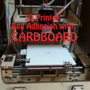 Cardboard: Alternative 3D Printer Bed Adhesion