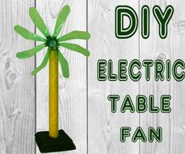 How to Make Table Fan From Plastic Soda Bottle DIY Simple Electric Fan