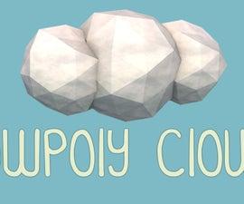 Low Poly Cloud - Cinema 4D