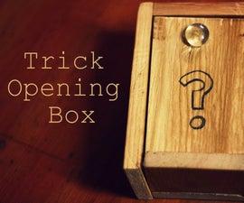Trick Opening Box