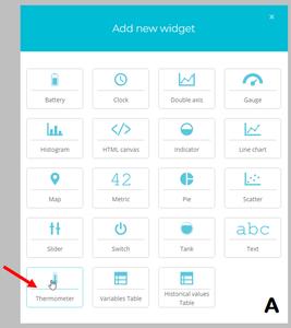 Creating Widgets - Temperature