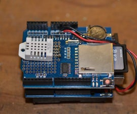 Temperature, Humidity and Dewpoint Data Logger