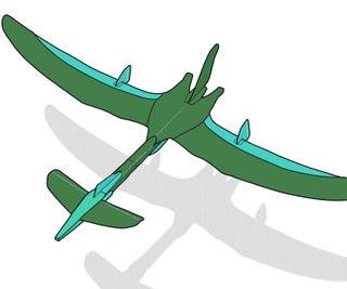 Card Stock Pterosaur X
