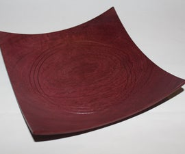 How to Turn a Square Bowl