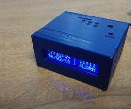 Arduino Digital Clock With Alarm Function (custom PCB)
